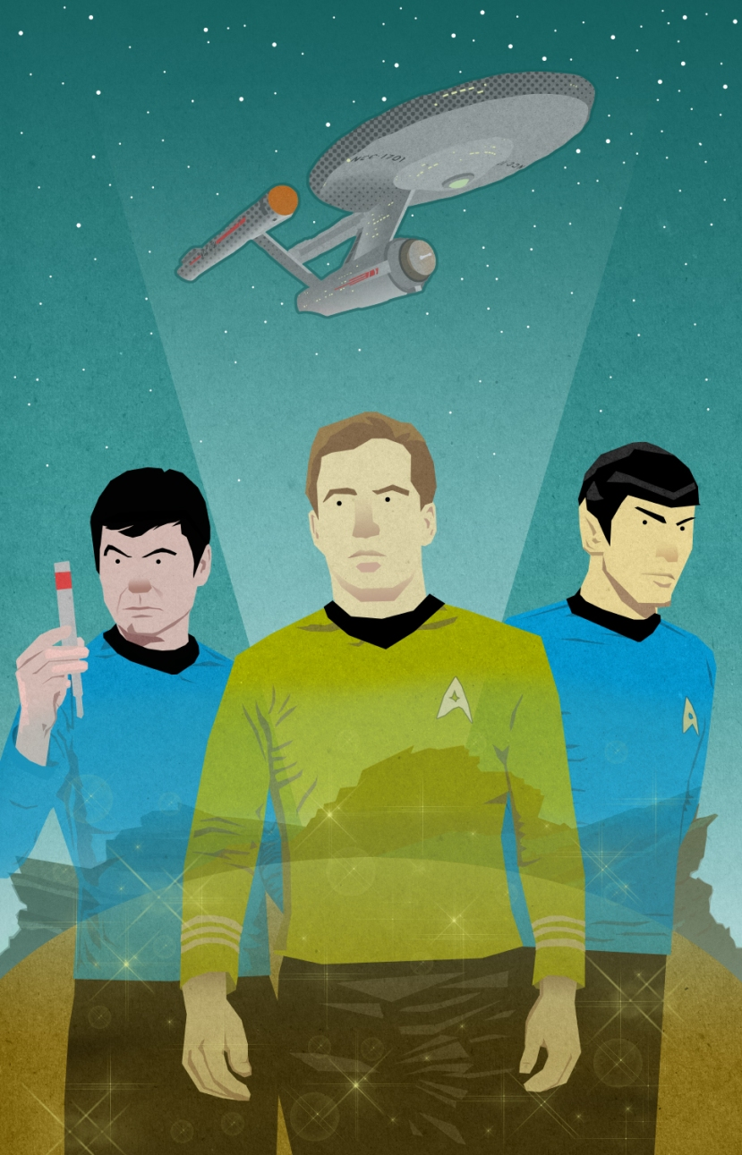 the enterprise trio